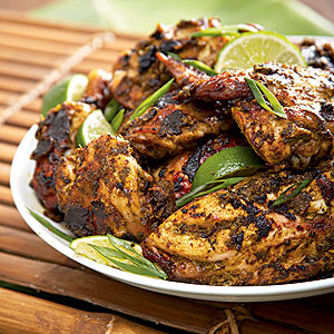 Make it at home jamaican rum jerk chicken tan lines for Authentic jamaican cuisine