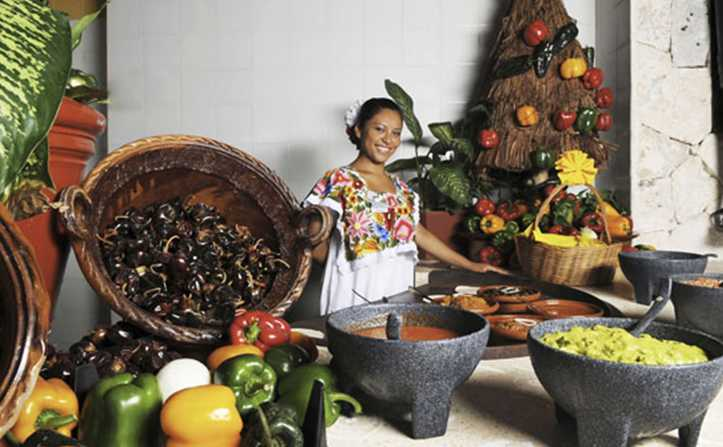Celebrate the year of the maya tan lines the official for Ancient mayan cuisine