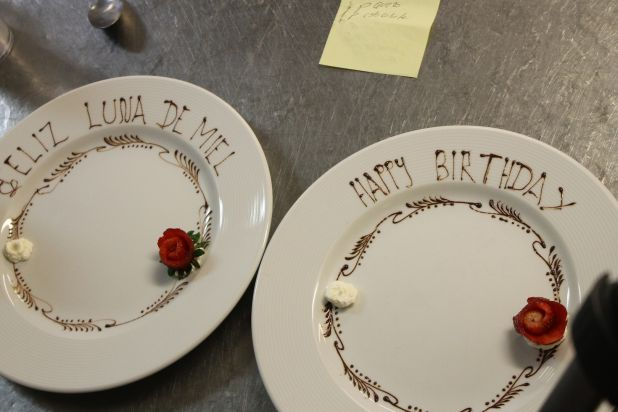 Our chefs even prepare personalized dishes for special occasions like birthdays and honeymoons!