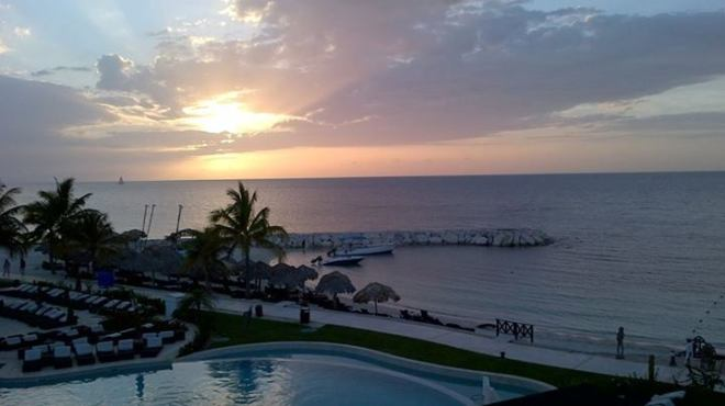 Peter Golding caught the perfect colors of the ocean in this shot taken at Secrets St. James Montego Bay