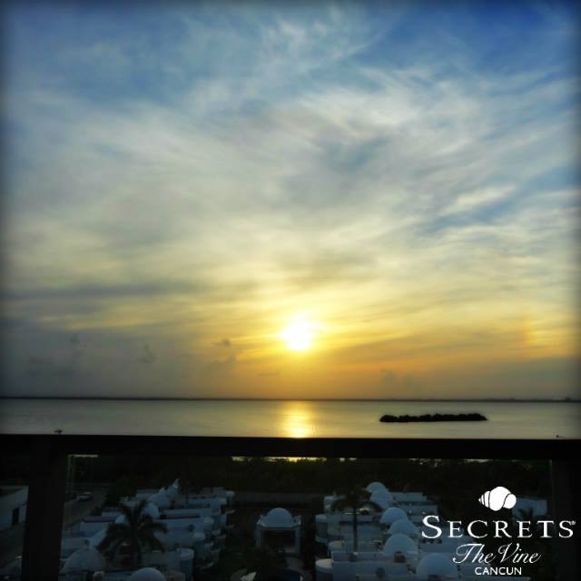 Thank you to our e-concierge, Zuleica Ávila for sharing this gorgeous shot of Secrets The Vine Cancun!