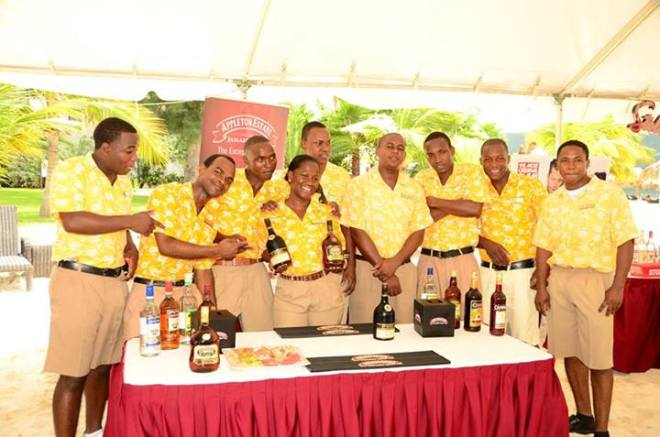Our bartenders showcased their talents at the Mixology competition in September.