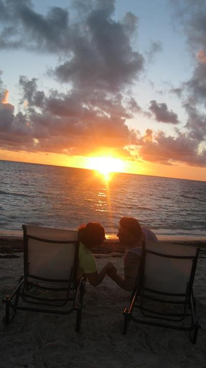 Jose Mula sent us this romantic sunset snapshot from his vacation to Secrets Royal Beach.