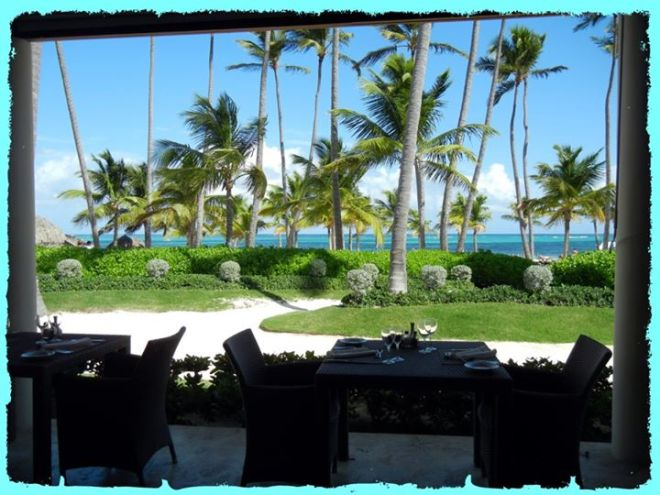 Imagine eating breakfast here! Recent guest Phi Lipp can attest to the wonderful experience.