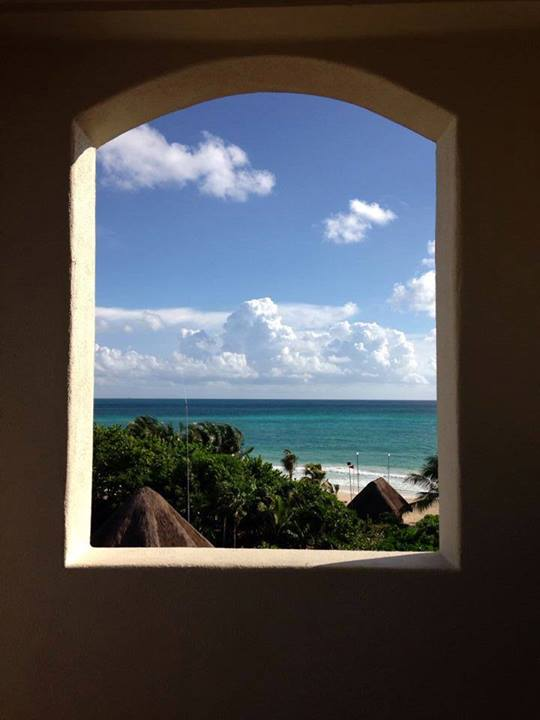 Absolutely love this creative beach photo from Heather H. at Secrets Maroma Beach!