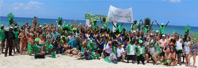 Happy St. Patty's Day fro Secrets Wild Orchid!