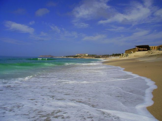 The incredible beach at Secrets Marquis Los Cabos.