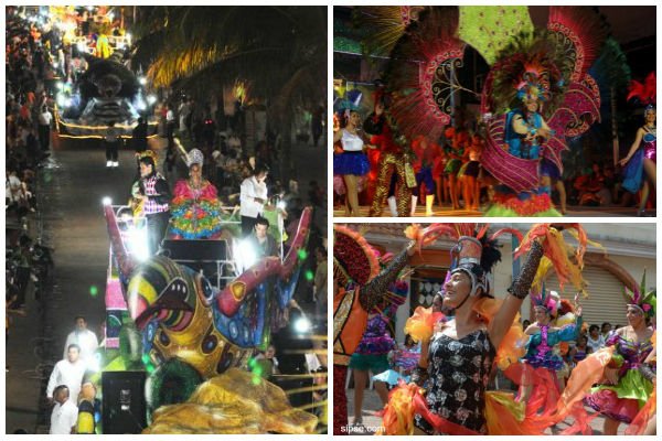 The streets of Cozumel come alive during Carnival!