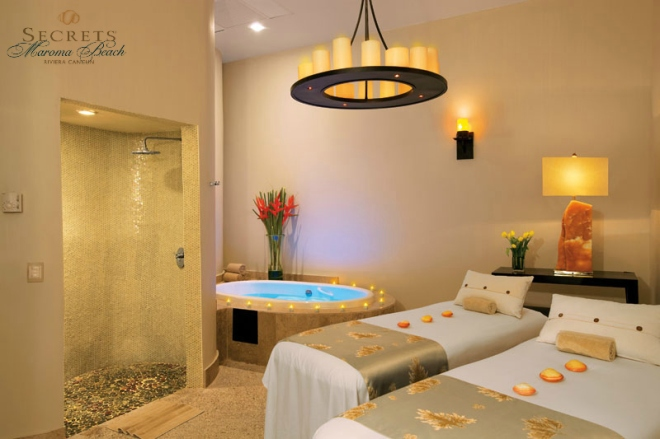 SEMRC SPA Couples Suite Secrets Maroma Beach