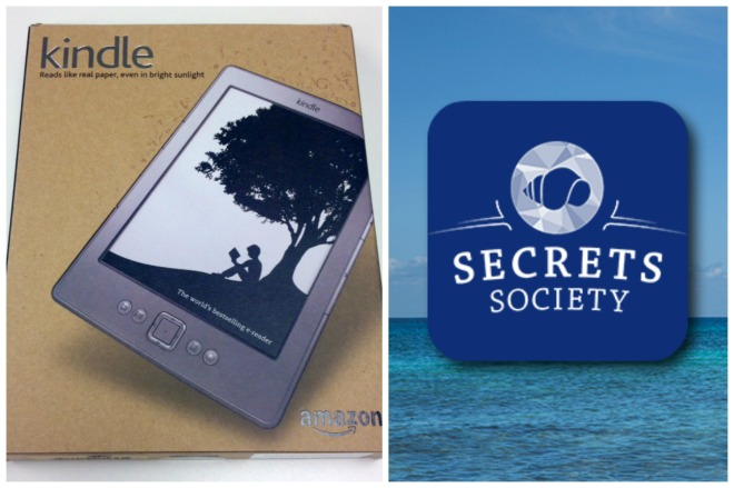 Enter our Secrets Society Instagram contest and you could win an Amazon Kindle!