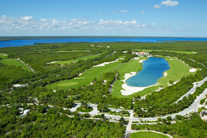 Playa Mujeres Golf Course, located adjacent to Secrets Playa Mujeres Golf & Spa Resort