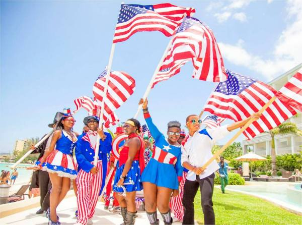 Secrets Wild Orchid Montego Bay_ 4th of July