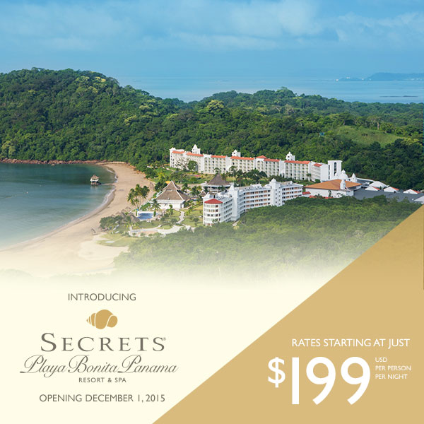secrets playa bonita panama location