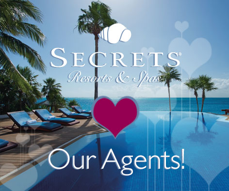 In recognition of Travel Agent Awareness Day, Secrets Loves Our Agents