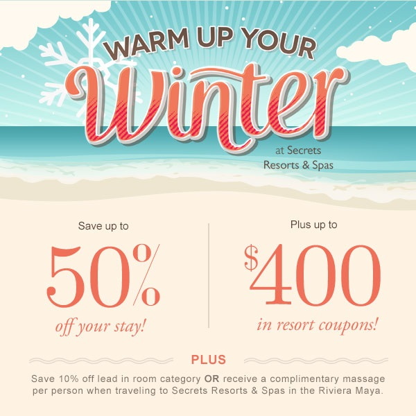 Warm Up Your Winter Promo