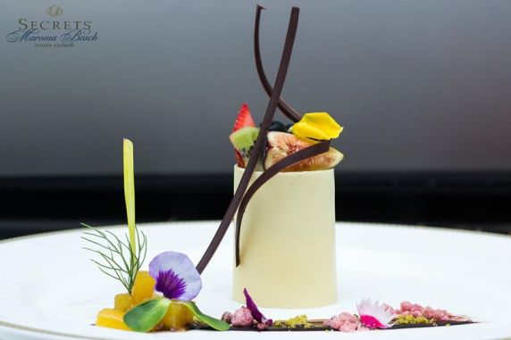 SEMRC white chocolate exotic fruit dessert Bordeaux